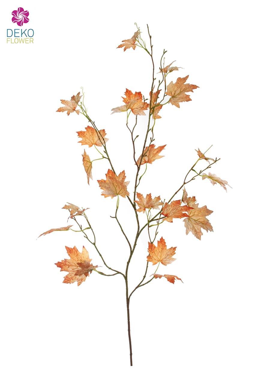 Künstlicher Ahorn Zweig braun 126 cm
