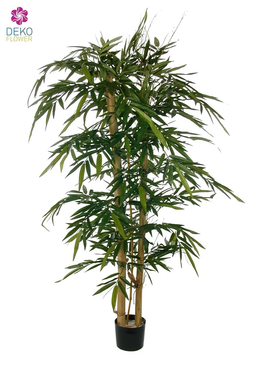 Bambus Kunstbaum mit dicken Stämmen 180 cm