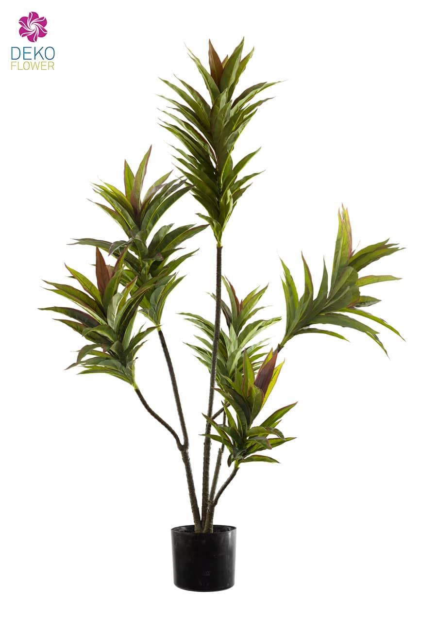 Künstlicher Baum Dracaena grün 125 cm