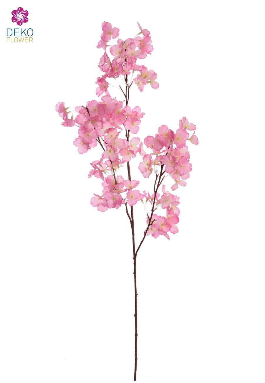 Künstliche Blütenzweige 105 cm pink 4er-Pack