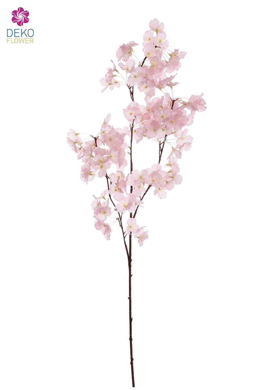 Künstlicher Blütenzweig rosa 105 cm 4er-Pack
