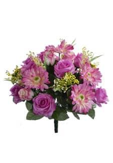 Künstlicher Blumenstrauß 40 cm lavendel