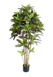 Künstlicher Kroton Baum 210 cm