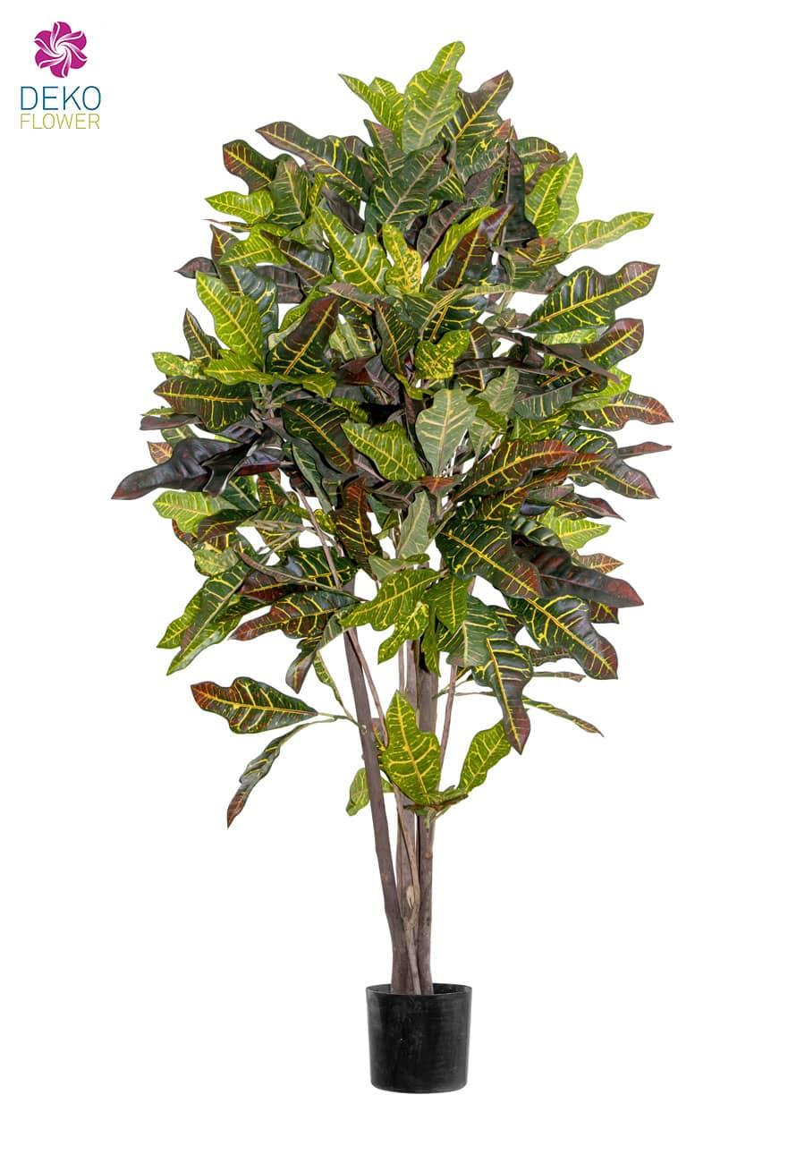 Künstlicher Croton Baum 120 cm