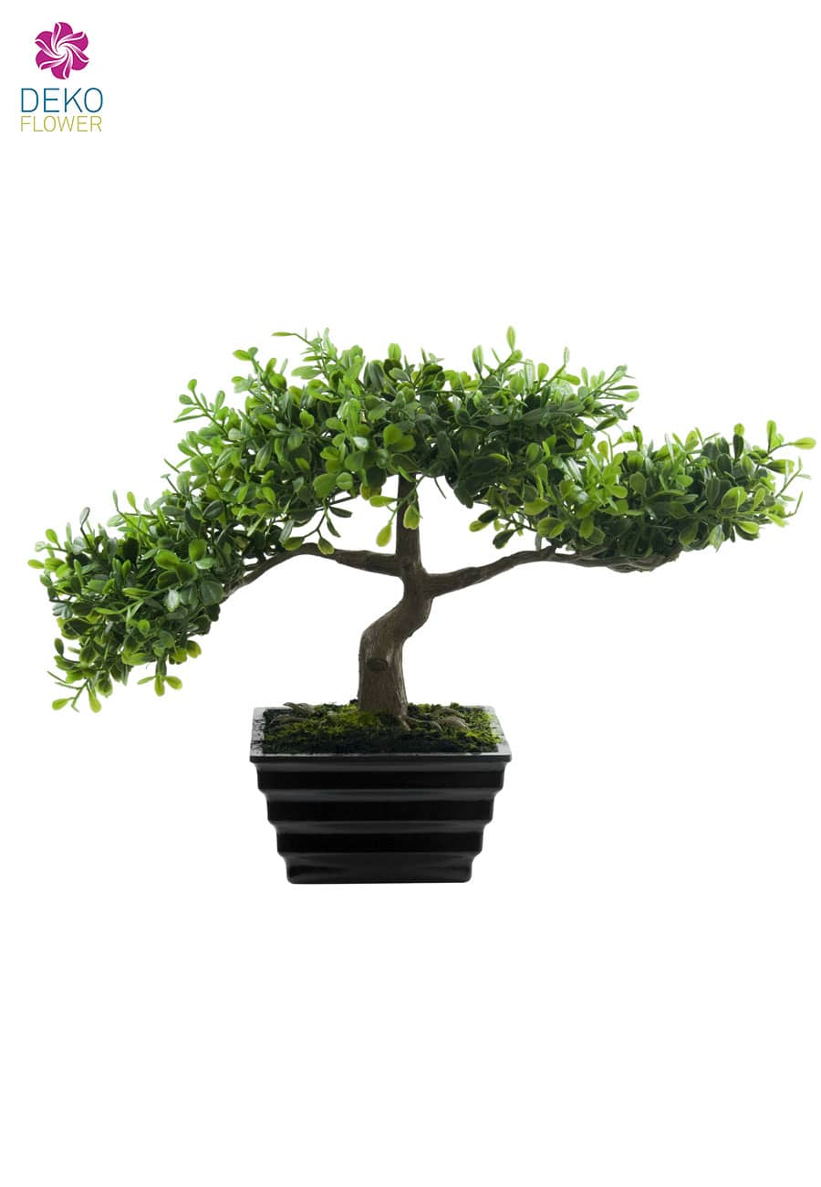 k nstlicher eukalyptus bonsai baum 23 cm. Black Bedroom Furniture Sets. Home Design Ideas
