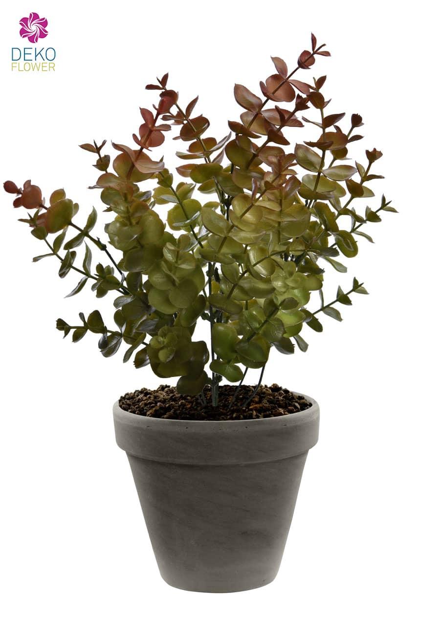 Künstlicher Eukalyptus Busch grün 31 cm