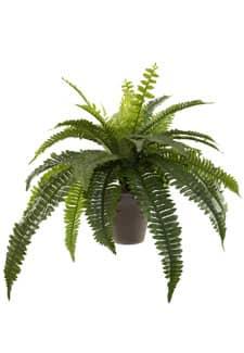 Künstlicher Farn 49 cm grün