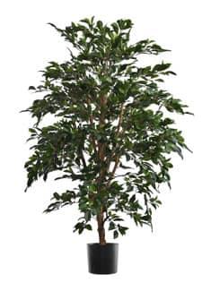 Künstlicher Ficus Baum grün 140 cm