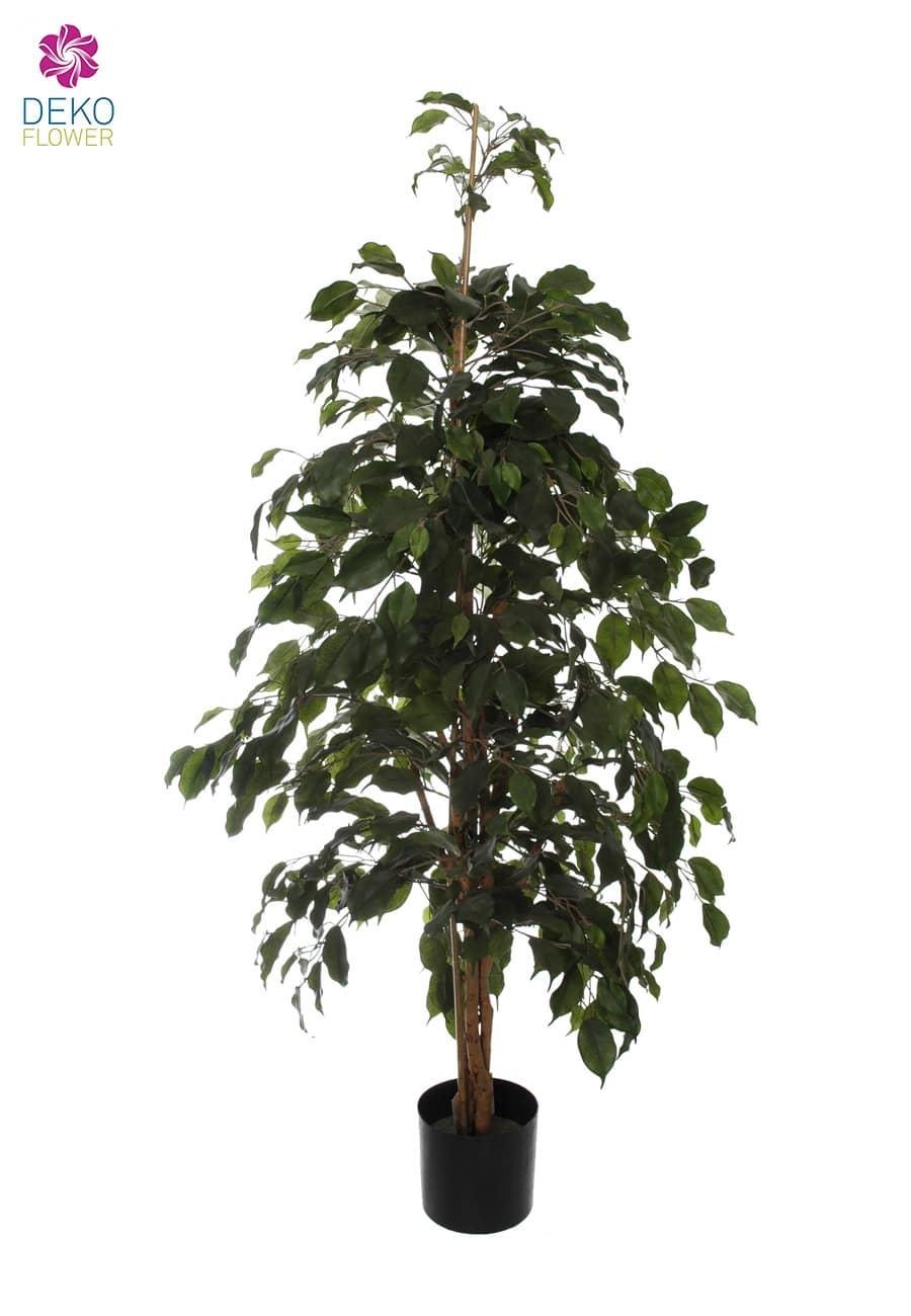 Künstlicher Ficus Baum Exotica grün 155 cm