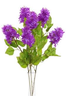 Künstlicher Flieder violett 68 cm 3er-Pack