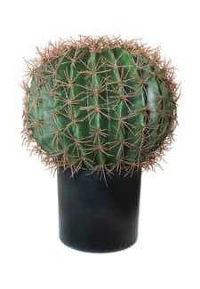 Künstlicher Kugel-Kaktus ca. 22.5cm