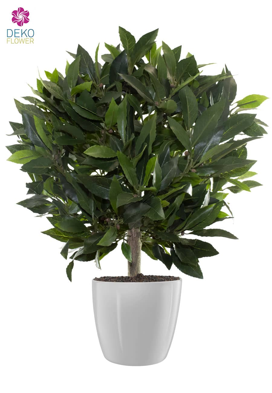 Künstlicher Lorbeer Kugelbaum 58 cm