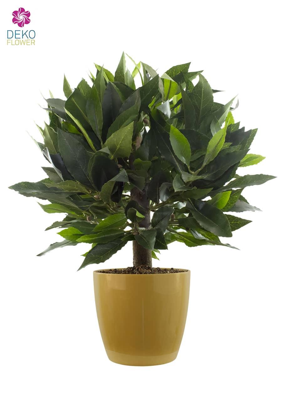 Künstlicher Lorbeer Kugelbaum 42 cm