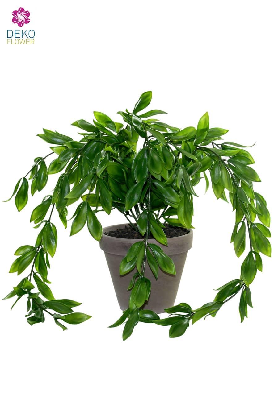 Künstlicher Magnolien Busch grün 35cm