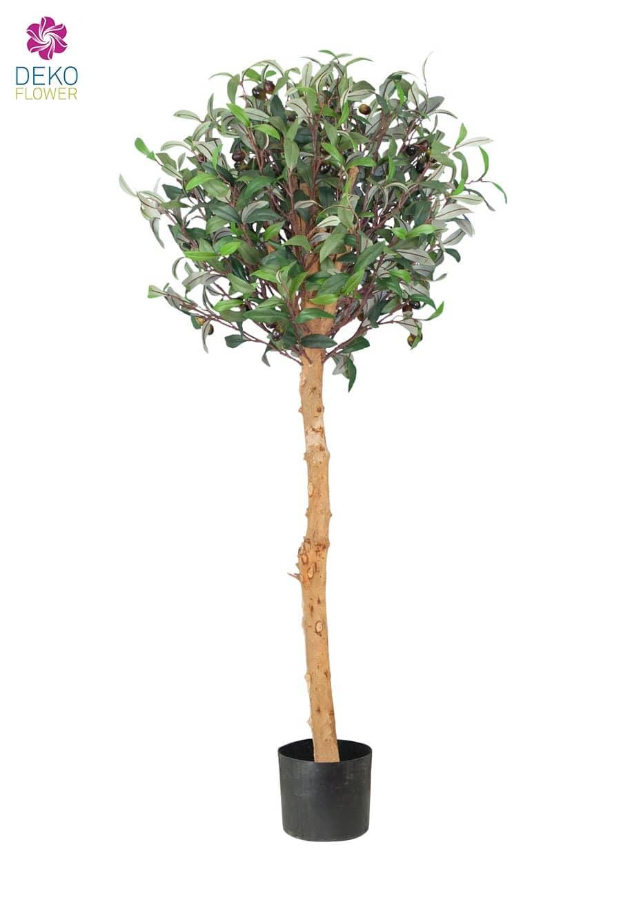 Künstlicher Oliven Kugelbaum ca. 120cm