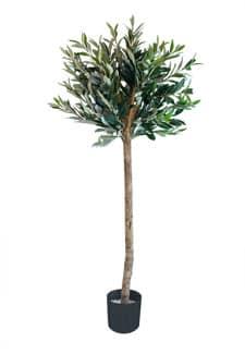 Künstlicher Oliven Kugel Baum 140 cm