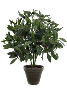 Künstlicher Olivenstrauch im Pflanzkübel 55 cm