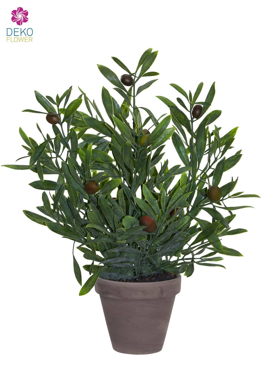 Olivenstrauch Kunstpflanze 40cm