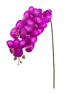Künstlicher Orchideenzweig magenta 103 cm
