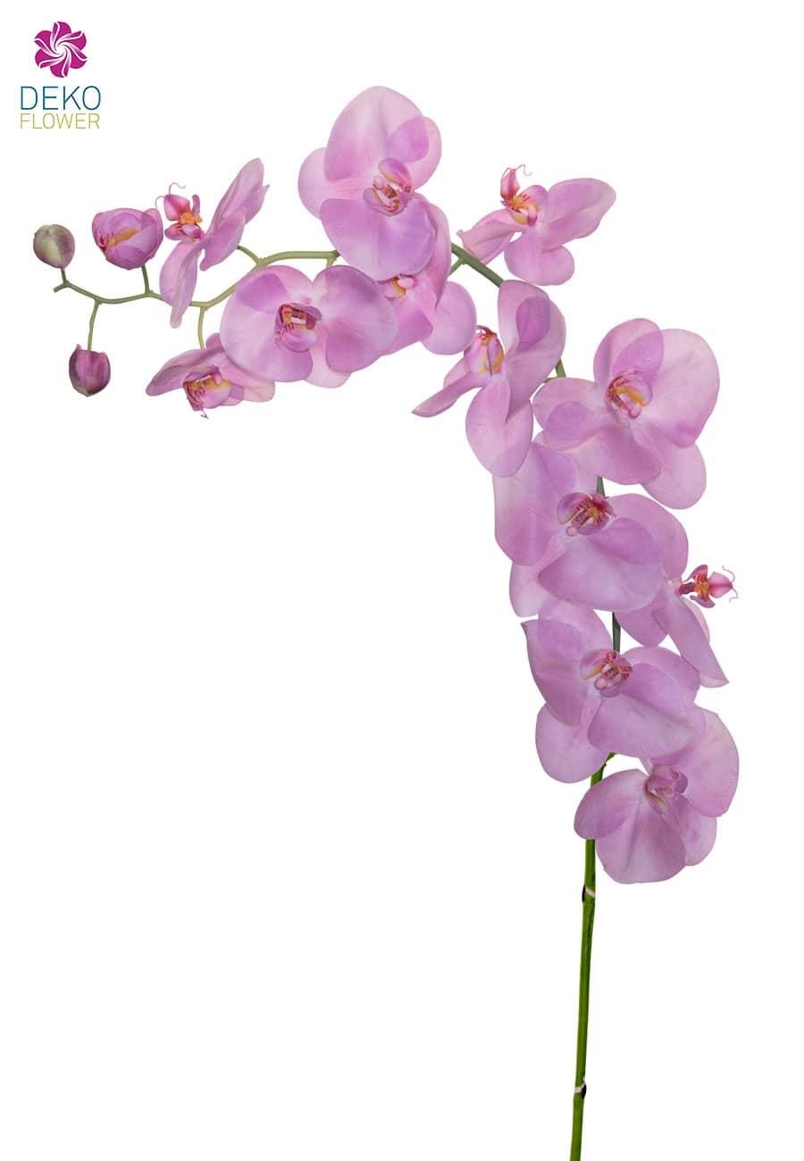 Künstlicher Orchideenzweig rosa 130 cm