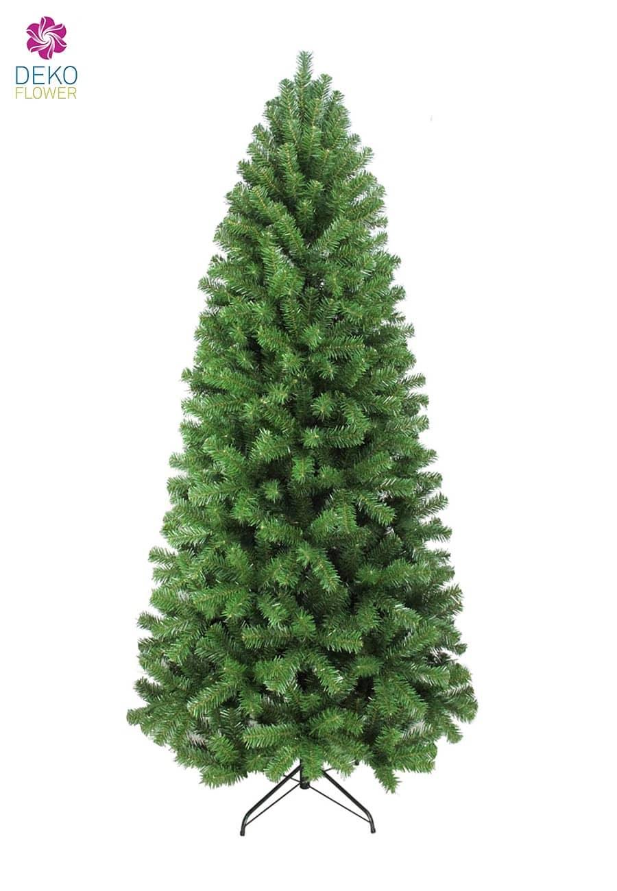k nstlicher schlanker weihnachtsbaum colorado 225cm. Black Bedroom Furniture Sets. Home Design Ideas