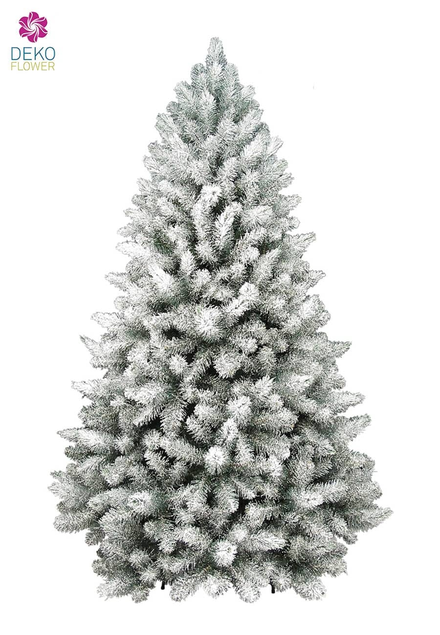 weihnachtsbaum glittered arctic spruce 210 cm in gr n. Black Bedroom Furniture Sets. Home Design Ideas