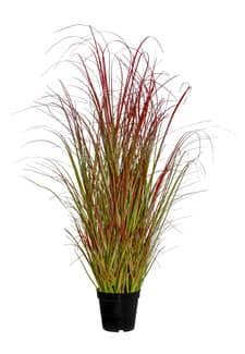 Künstliches Blut Gras 85 cm rot gelb grün