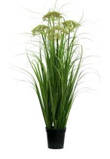 Künstliches Gras mit Dill getopft grün 115cm