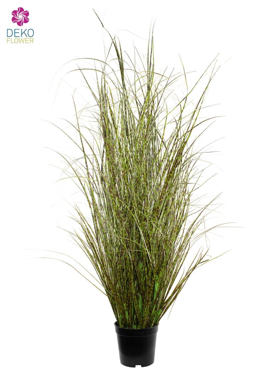 Künstliches Gras 126 cm getupft