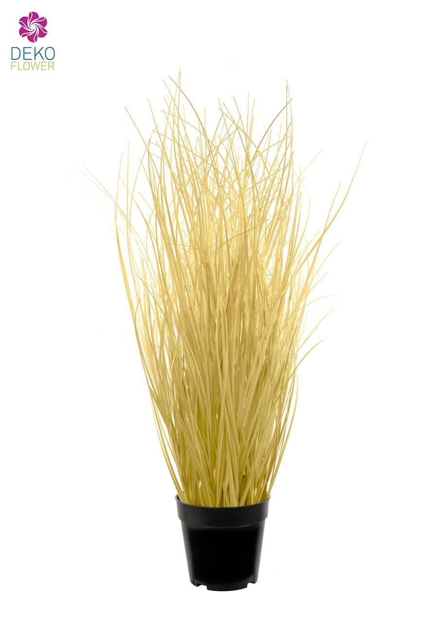 Künstliches Gras beige 80 cm