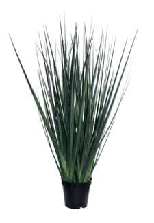 Künstliches Schwertgras 80 cm grün getopft