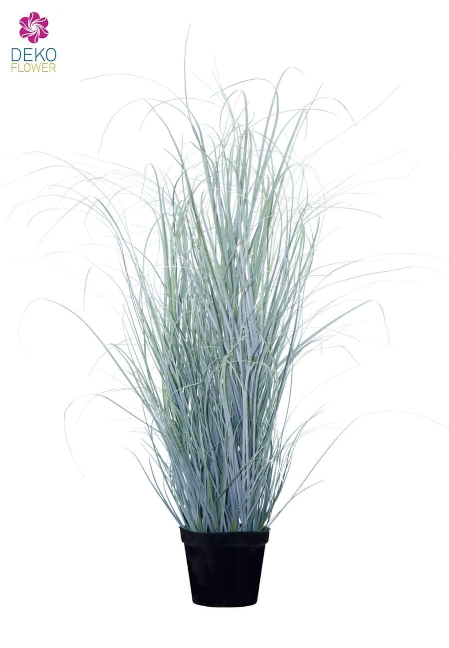Künstliches Gras eisgrau 90cm