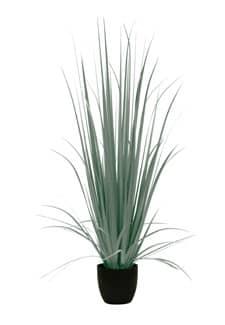 Künstliches Yucca Gras 150 cm grau grün