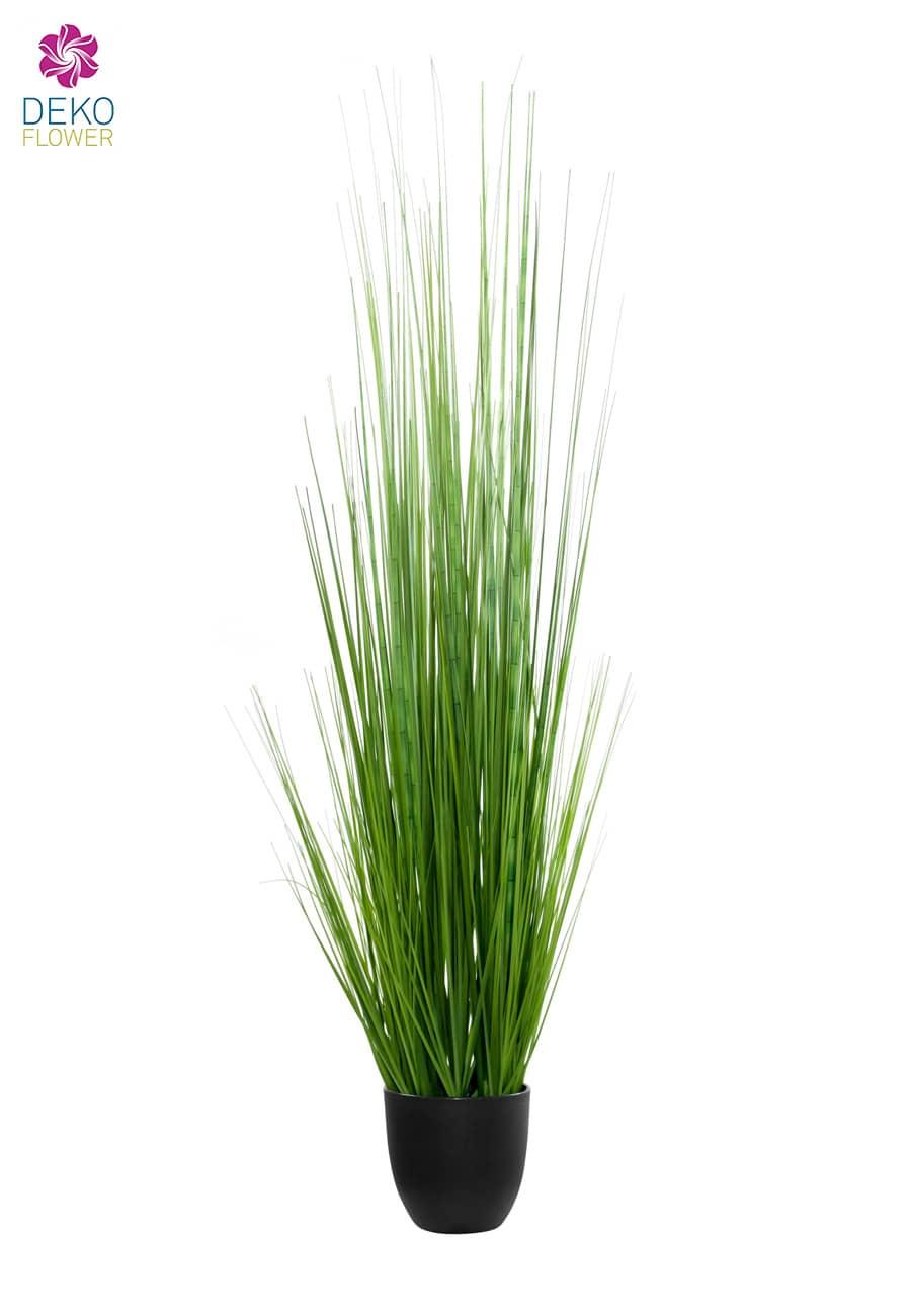 Künstliches Mississippi Gras im Topf 110 cm grün