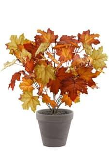 Künstliches Herbstlaub braun 44cm