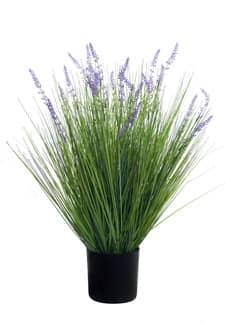 Künstliches Lavendel Gras 75 cm grün