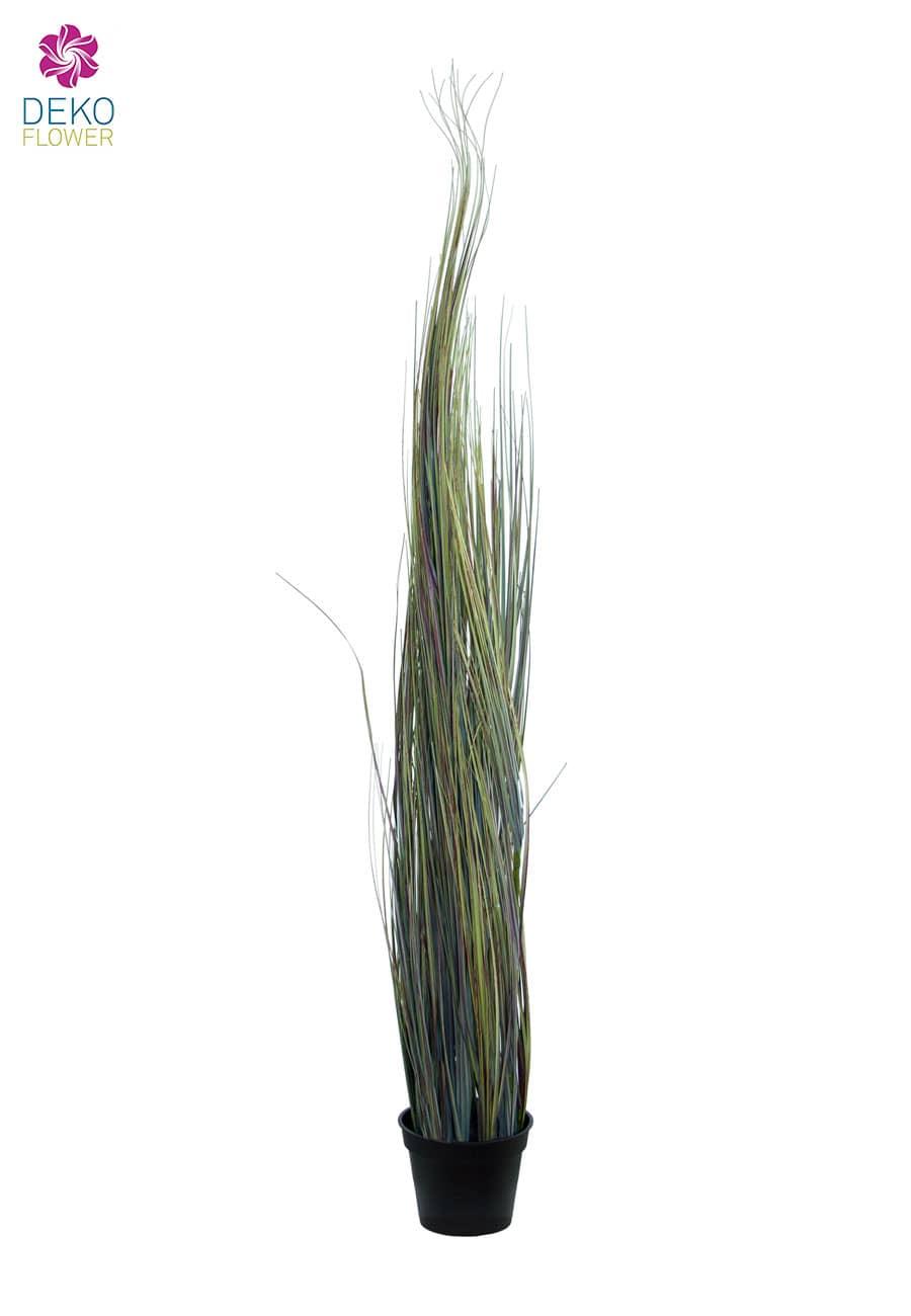 Künstliches Prärie Gras grau grün 110 cm