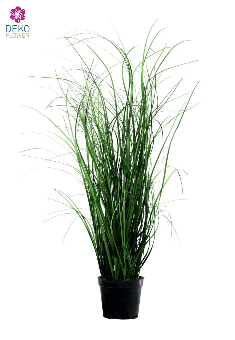 Künstliches Regenwald Gras 100 cm grün