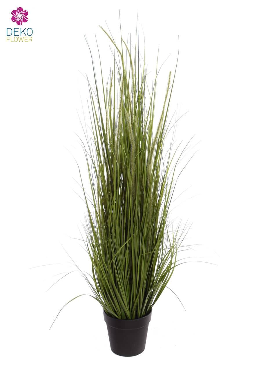Künstliches Rispen Gras 127 cm im Topf