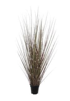 Künstliches Steppen Gras grau braun 120 cm