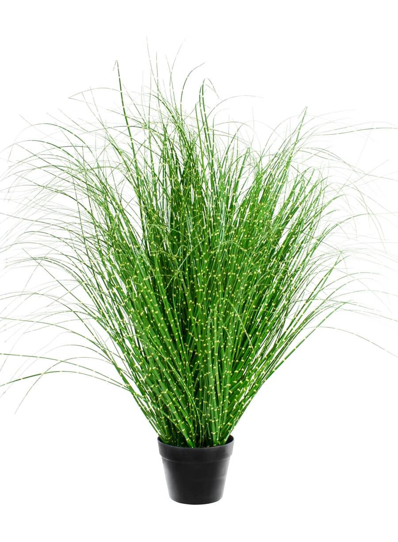 Künstliches Zebra Gras dunkelgrün 107 cm