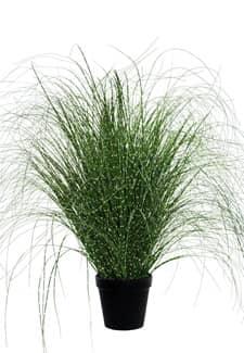 Künstliches Zebra Gras dunkelgrün 132 cm