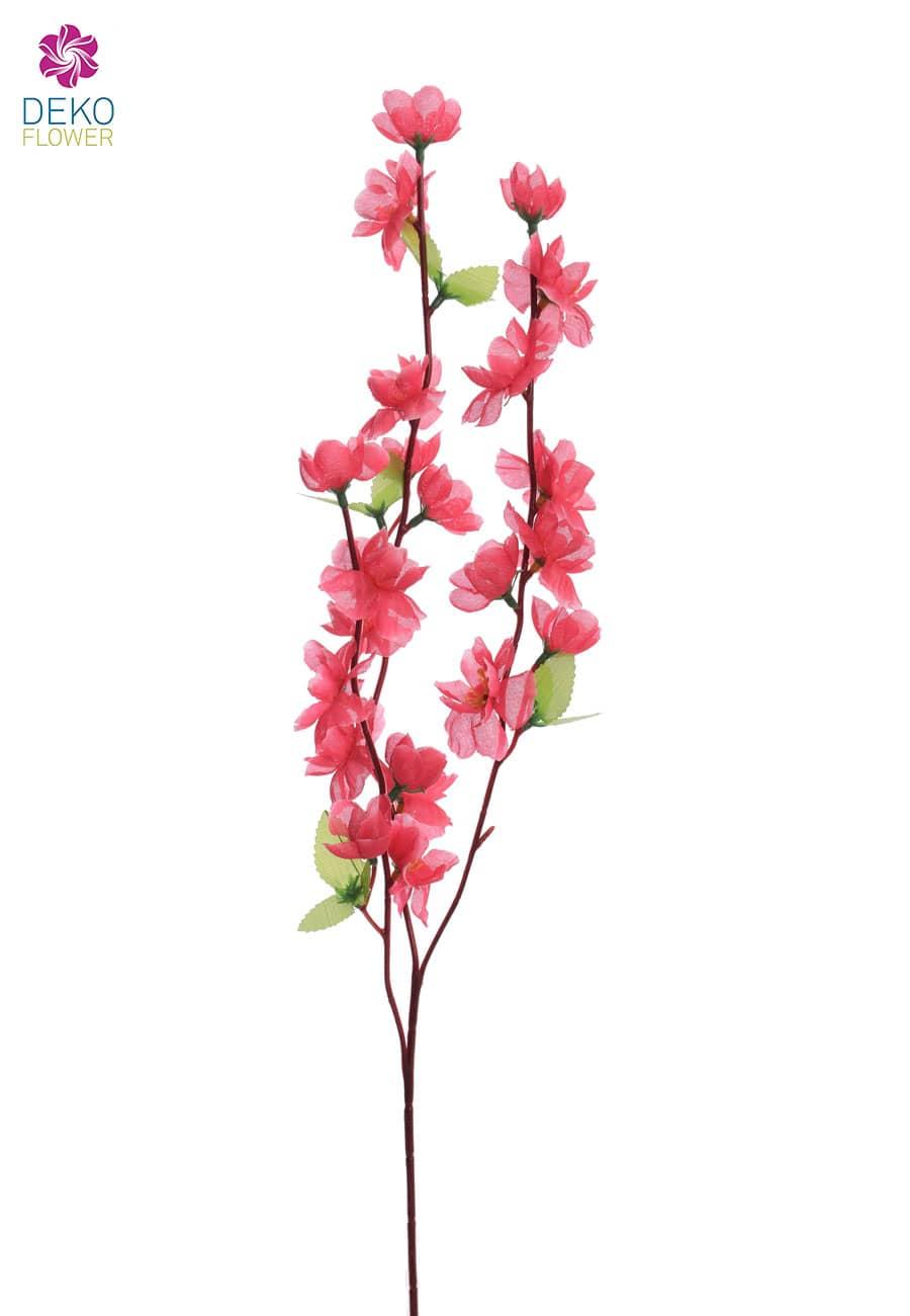 Künstlicher Blütenzweig pink 65 cm, 6er-Pack