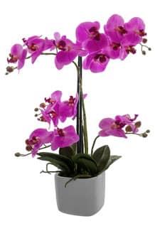 Kunst Orchidee 56 cm pink