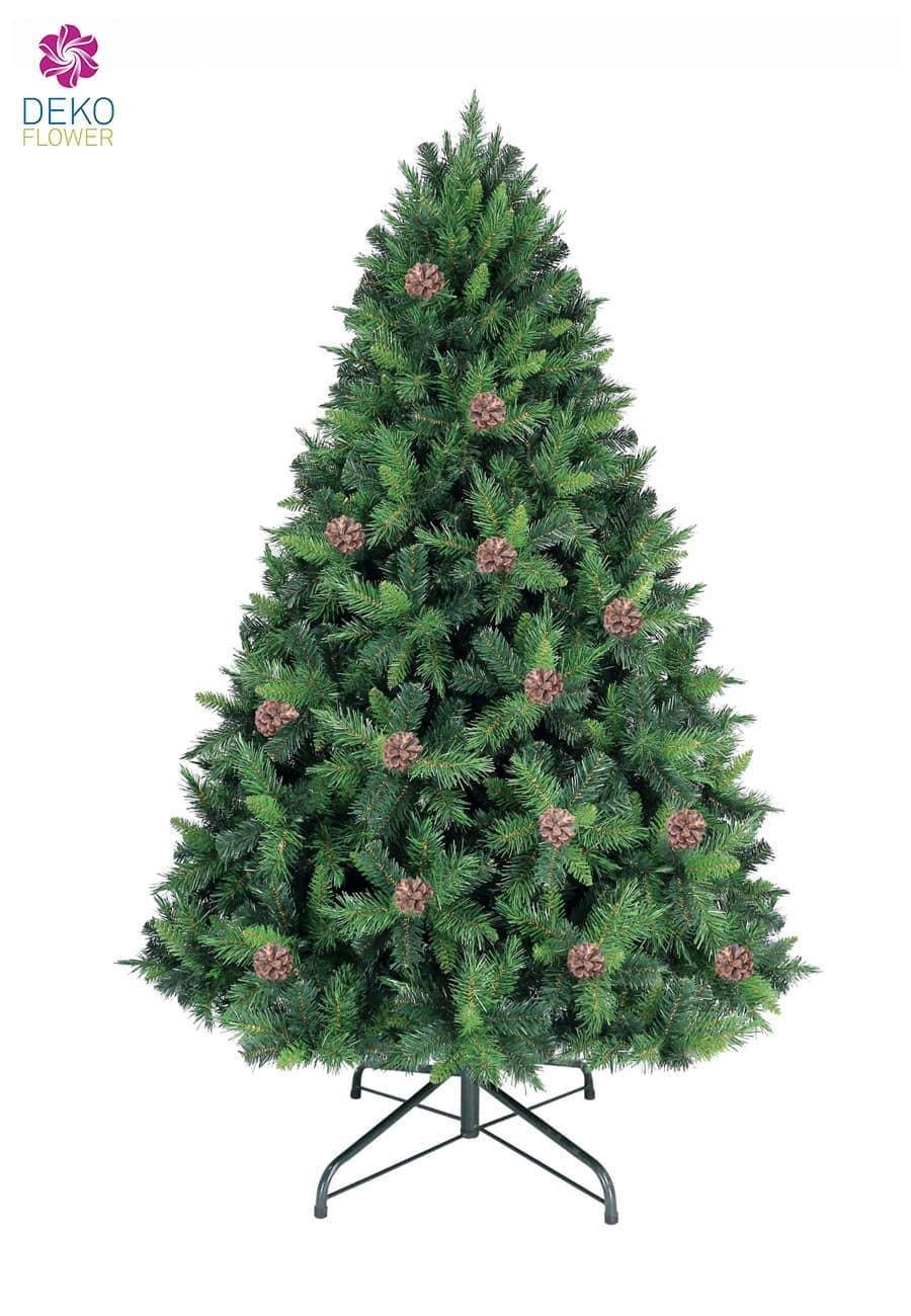 Tannenbaum Mixed Pine 210 cm mit Tannenzapfen