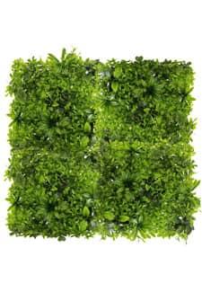 Kunstblatt Grasmatte grün 50 x 50 cm
