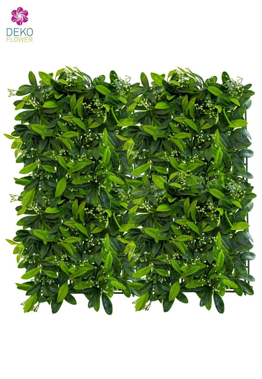 Kunstblatt Matte 50 x 50 cm grün