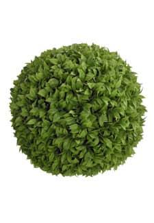 Kunstblattkugel 38 cm grün