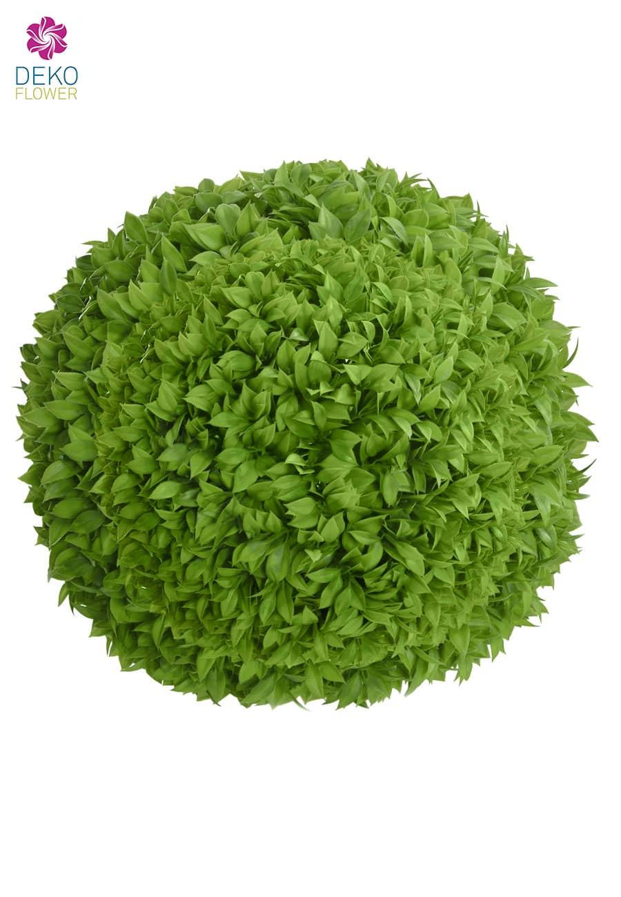 Kunstblattkugel grün 50 cm