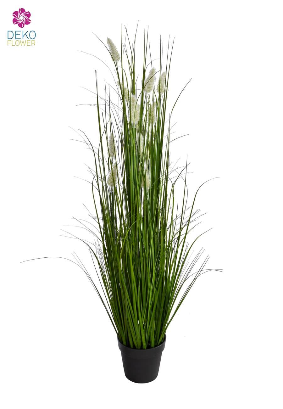 Kunstgras getopft mit Getreideborsten 135 cm